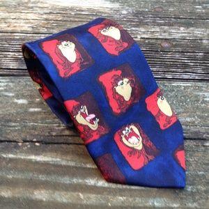 2000 Taz Necktie Tasmanian Devil Looney Tunes